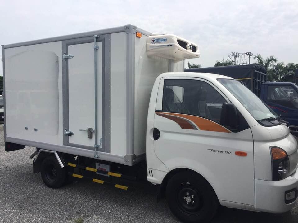 Xe tải Hyundai Porter H150 đông lạnh - 2021