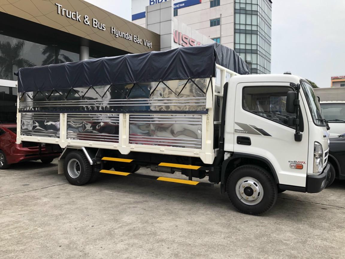Bộ 3 xe new mighty bất bại của hyundai