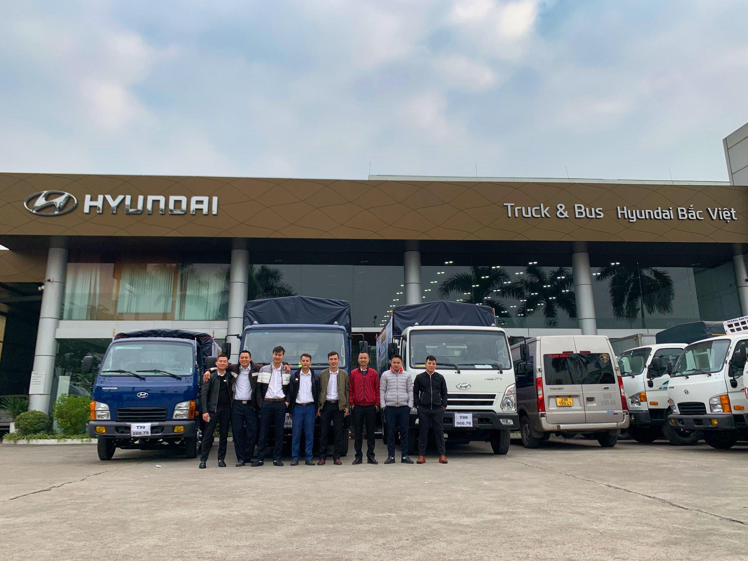 chương trình lái thử xe tải Hyundai